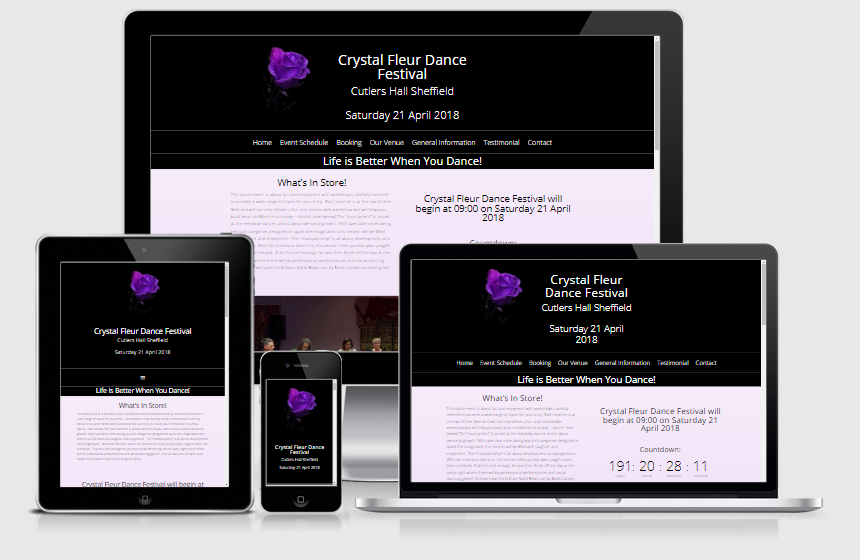 Websites Crystal Fleur Dance Festival