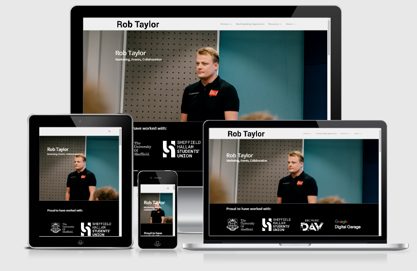 Websites Rob Taylor Official
